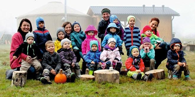 Lesní školka přeje krásné podzimní dny